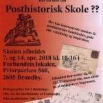 Posthistorisk Skole 2018 – Program