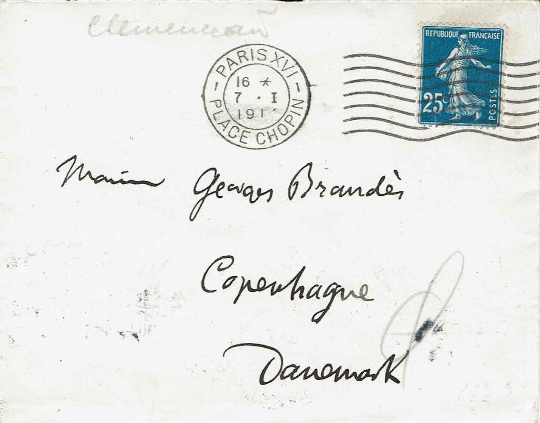 Brev Paris 1915 til Brandes